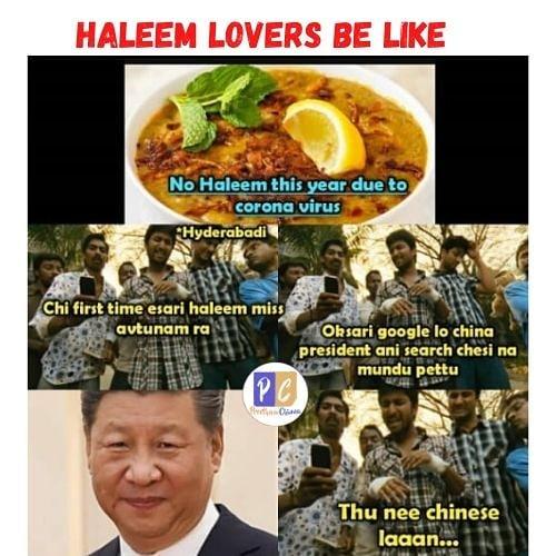 3. Haleem Memes