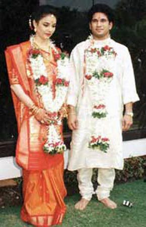 30. Sachin And Anjali's Rare Marriage Pic