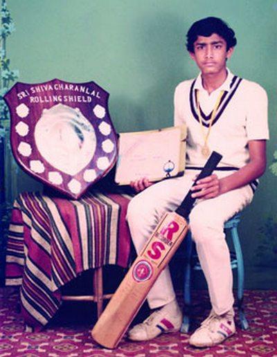 5. Anil Kumble's Rare Picture