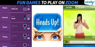 Fun Games To Play On Zoom