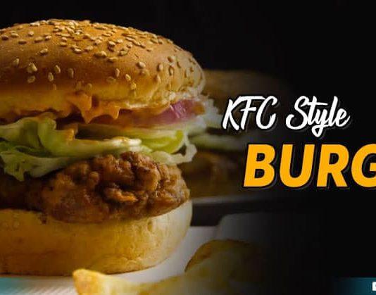 Kfc Style Burger