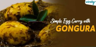 Simple Egg Curry With Gongura