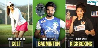 Tollywood Actors Who Came From A Sports Background