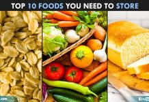 Top 10 Foods You Need To Store