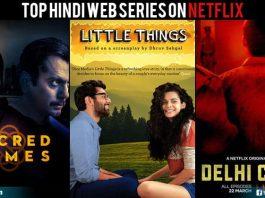Top Hindi Web Series On Netflix