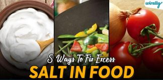 Ways To Fix Excess Salt In Food