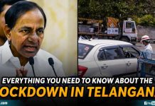 Lockdown In Telangana