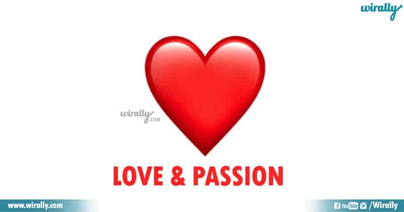 1 Red Heart Emoji