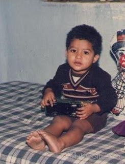 1. Jr. Ntr Rare Childhood Picture