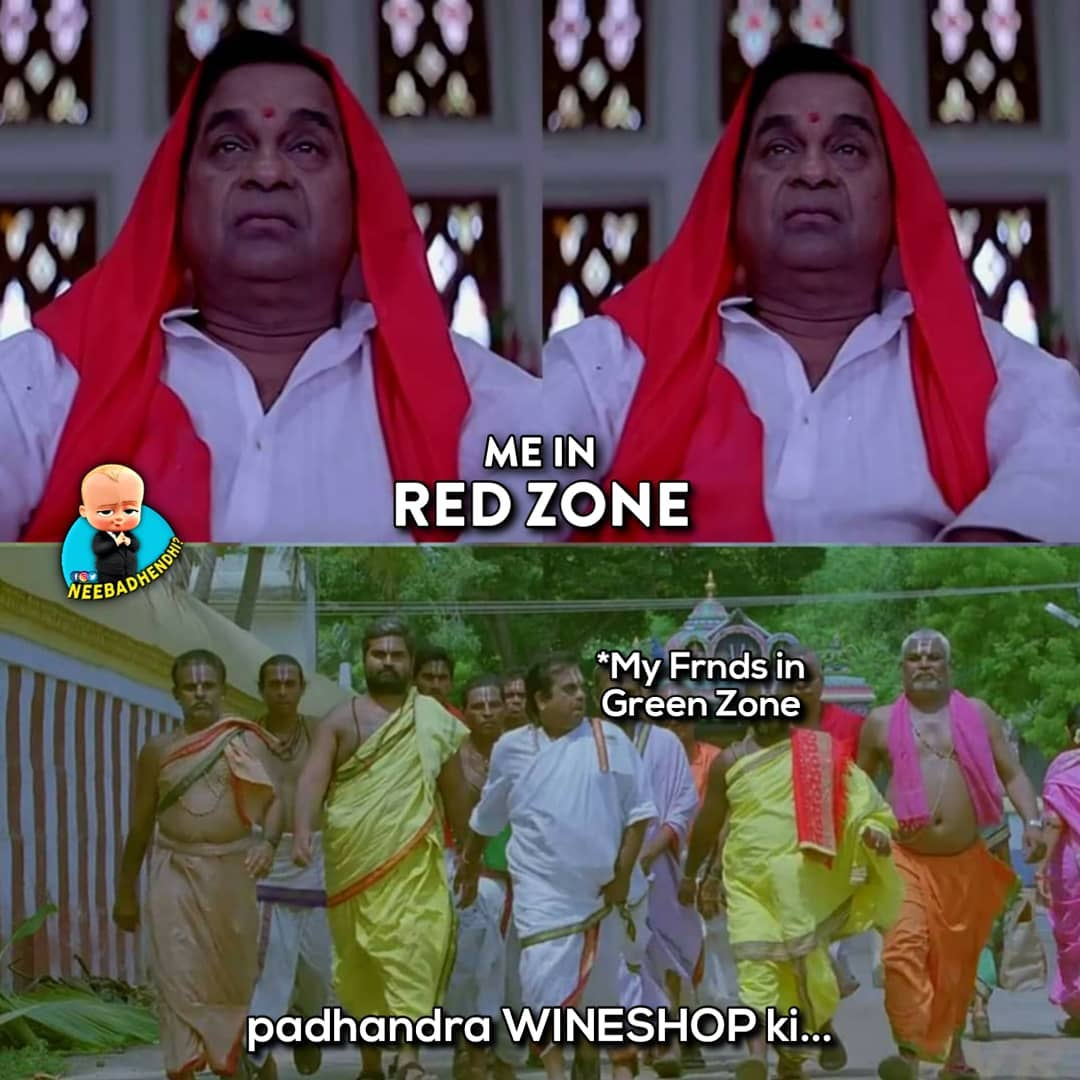 1. Red Zone Memes