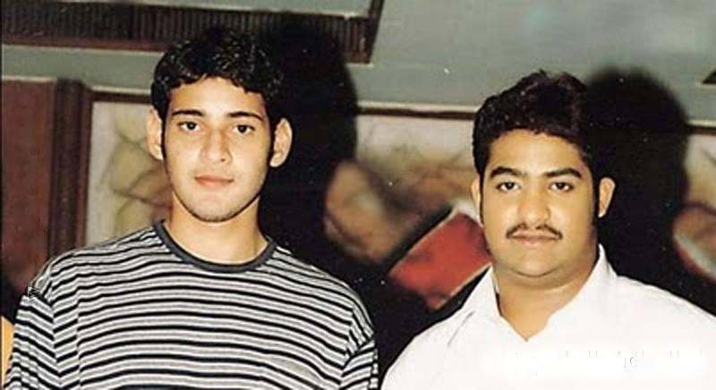20. Jr. Ntr Rare Pic With Superstar Mahesh Babu