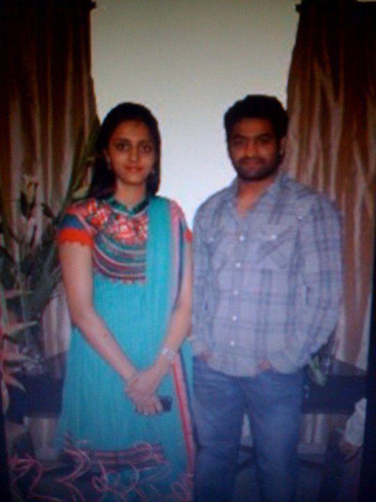 27. Jr. Ntr Rare Pic With His Wife Lakshmi Pranathi