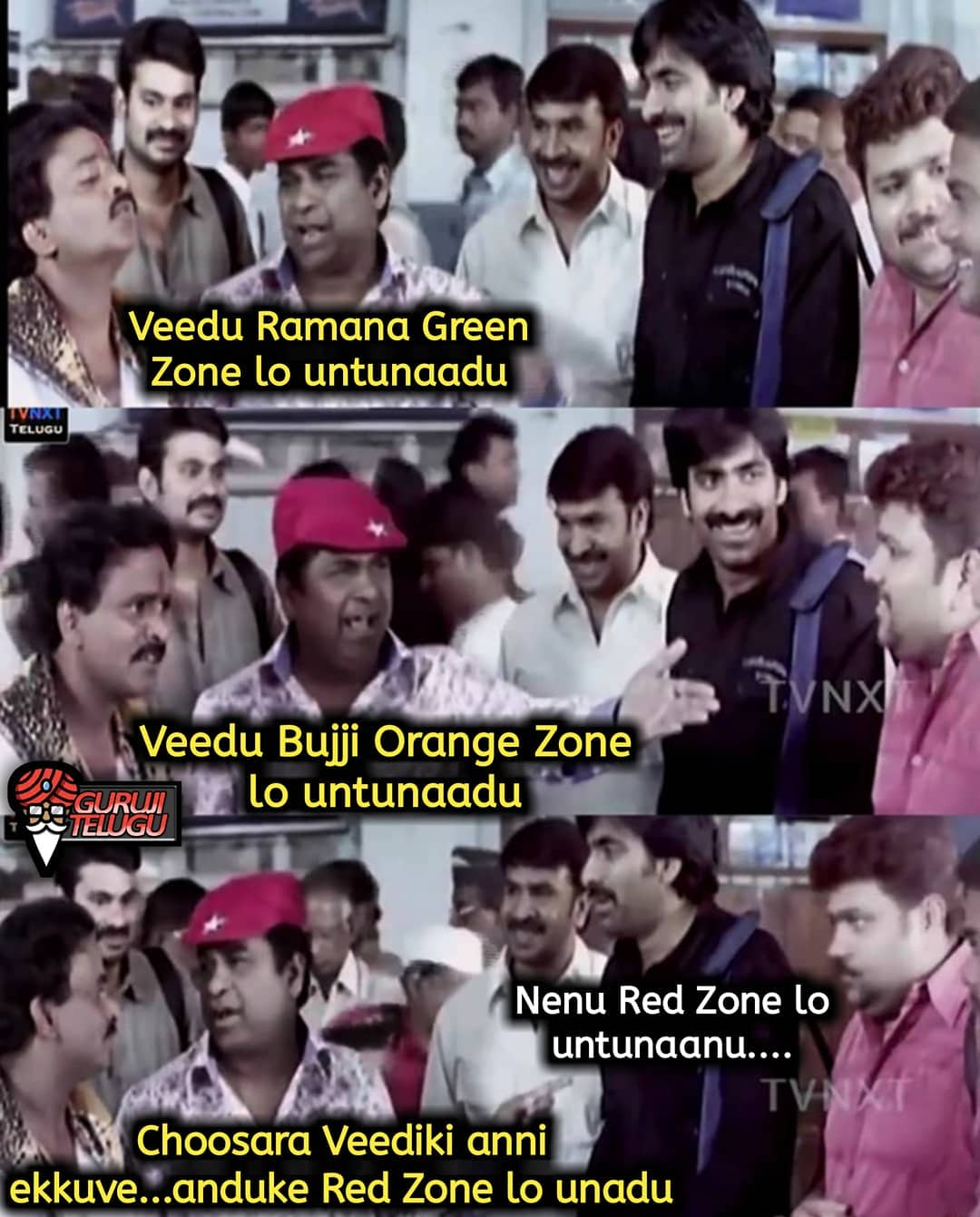 3. Red Zone Memes