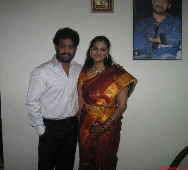 37. Jr. Ntr With His Sister