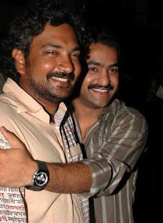 40. Jr. Ntr Rare Pic With Director Rajamouli
