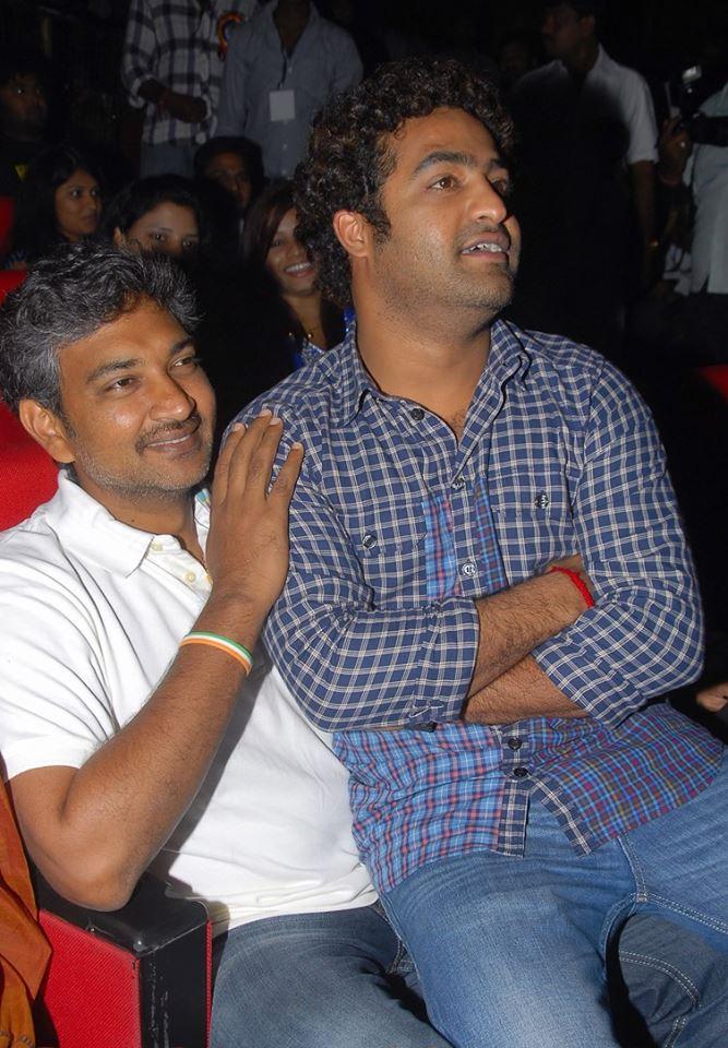 44. Jr. Ntr Rare Pic With Director Rajamouli
