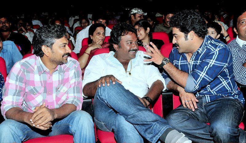 47. Jr. Ntr Rare Pic With His Favourite Directors Vv Vinayak And Rajamouli