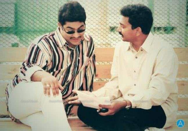 57. Jr Ntr Rare Pic With Ss Rajamouli