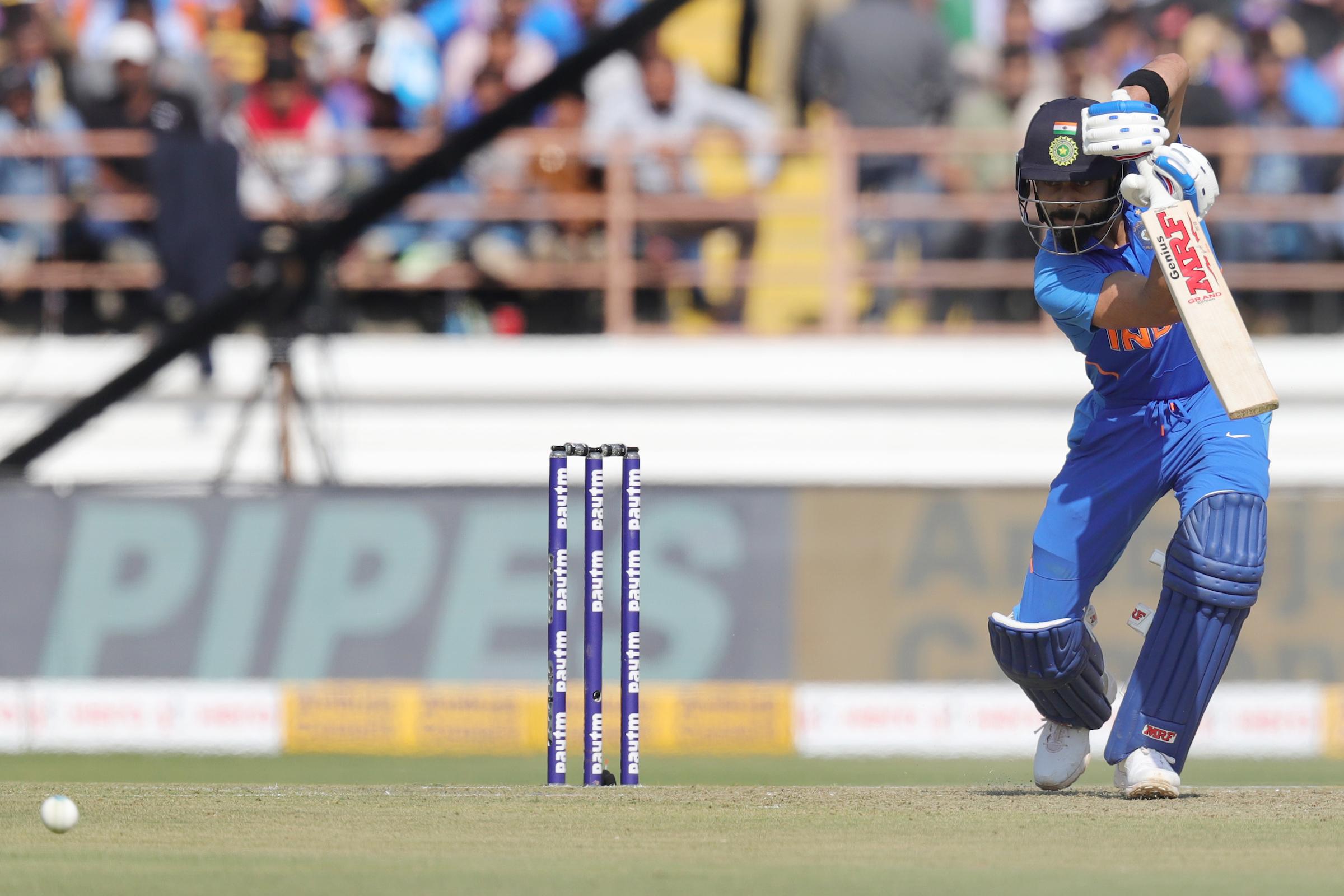 Cricket India V Australia 2nd Odi At Rajkot