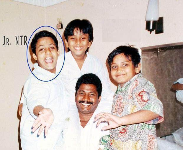 9. Jr. Ntr Rare Rare Childhood Pic