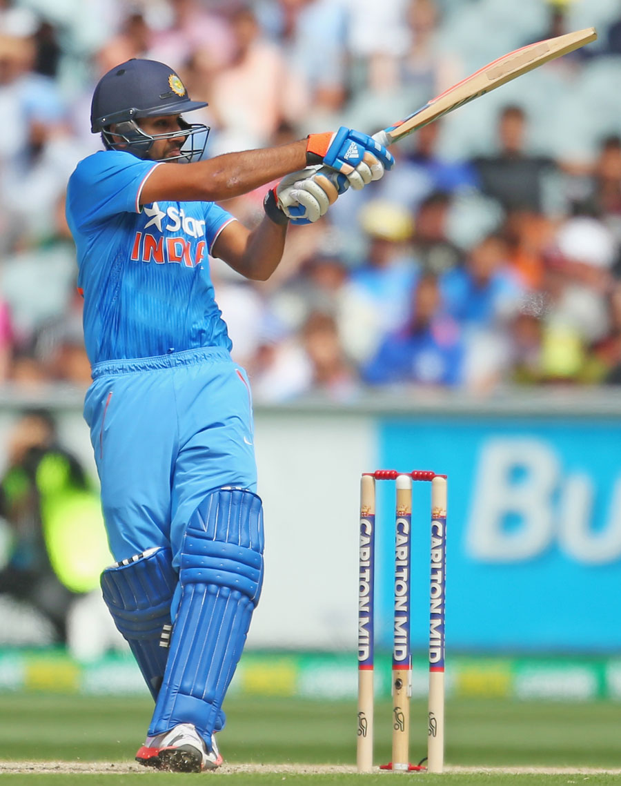 9. Rohit Sharma Pull Shot