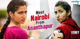 Nairobi From Money Heist Drape Saree & Speaks Fluent Telugu In This Spanish Documentary