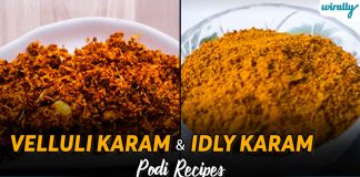 Velluli Karam And Idly Karam Podi Recipes