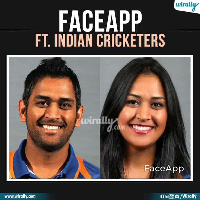 11 Indian Cricketers Faceapp