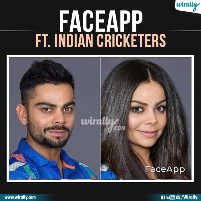 12 Indian Cricketers Faceapp