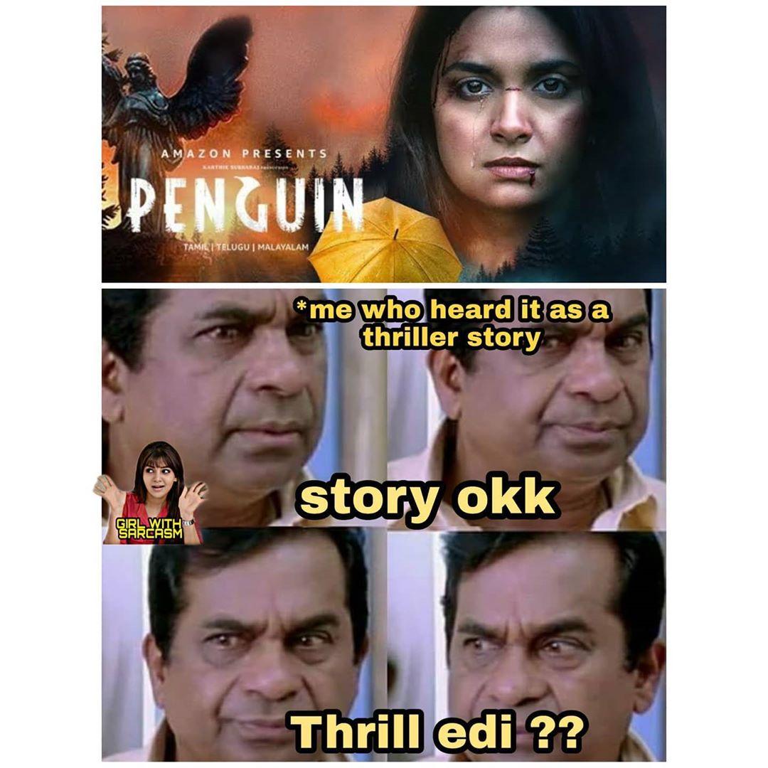 12. Penguin Movie Memes