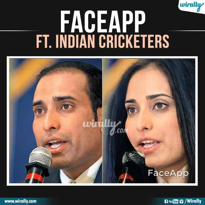 14 Indian Cricketers Faceapp