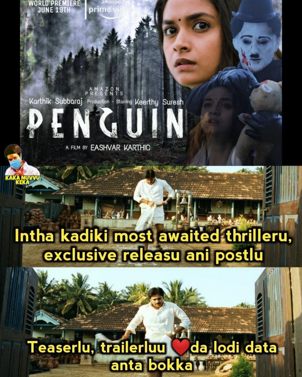 2. Penguin Movie Memes