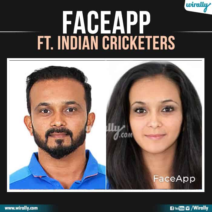 22 Indian Cricketers Faceapp