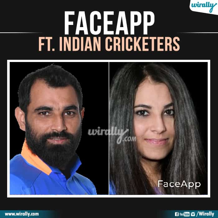 24 Indian Cricketers Faceapp
