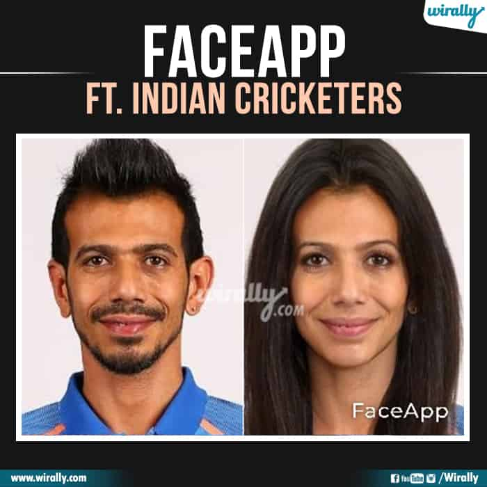 25 Indian Cricketers Faceapp