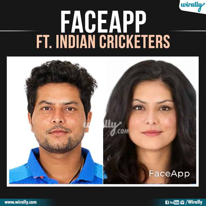 26 Indian Cricketers Faceapp