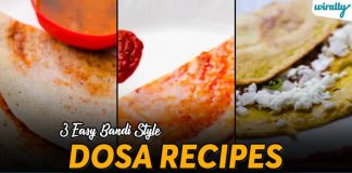 3 Easy Bandi Style Dosa Recipes