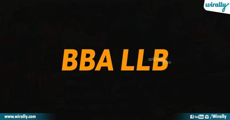 BBA LLB