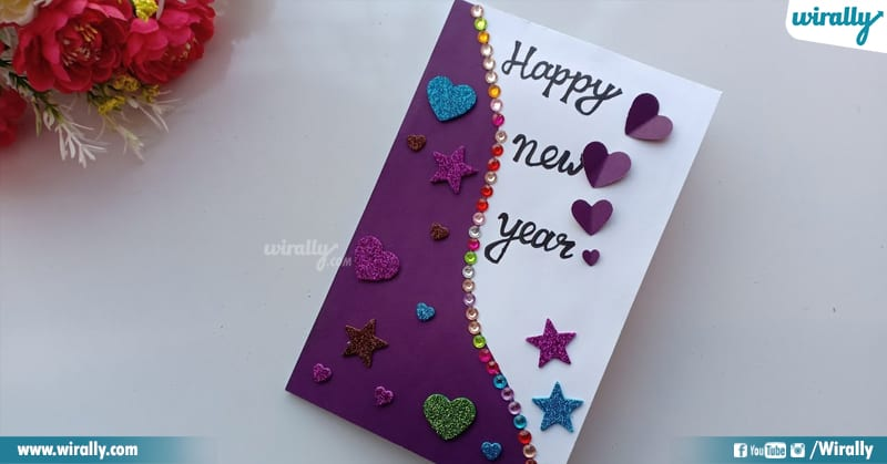 4 New Year Greeting Card