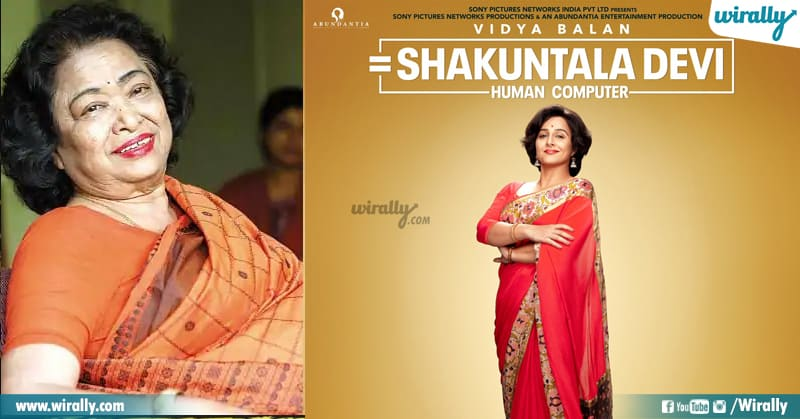 8 Shakunthala Devi
