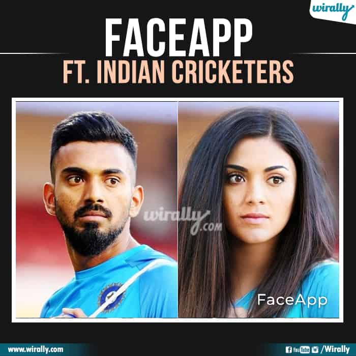 9 Indian Cricketers Faceapp