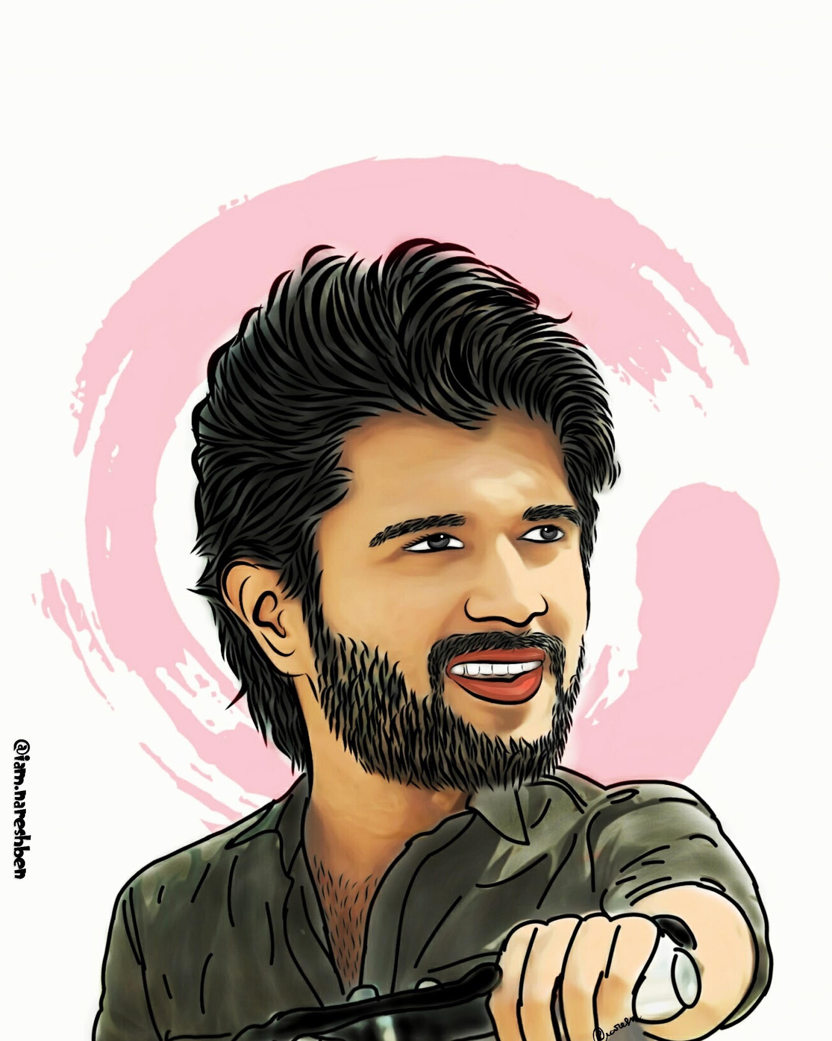 9. Vijay Deverakonda Wax Doll Art