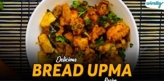 Delicious Bread Upma Recipe