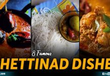 Famous Chettinad Dishes