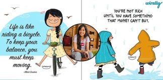 Meet Swarnima Telang The Instagrammer Who Spreads Positivity Through The Illustrations