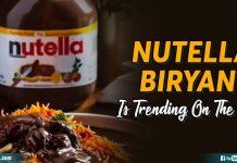 Nutella Biryani Is Trending On The Net