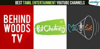 Tamil Entertainment Youtube Channels