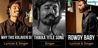 These Hit Songs Written & Sung By Dhanush Proves That He Is A Good Lyricist & Singer Too (1)