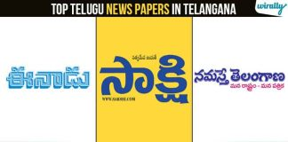 Top Telugu News Papers In Telangana