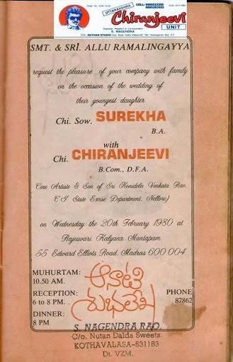 11 Chiranjeevi And Surekha